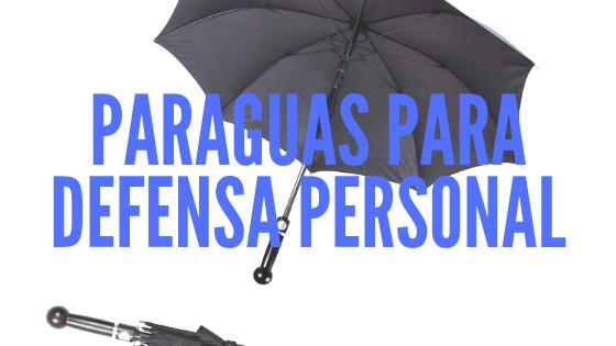 Paraguas para defensa personal